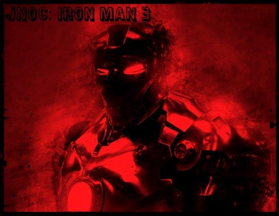 Iron-Man-3-Black-and-White