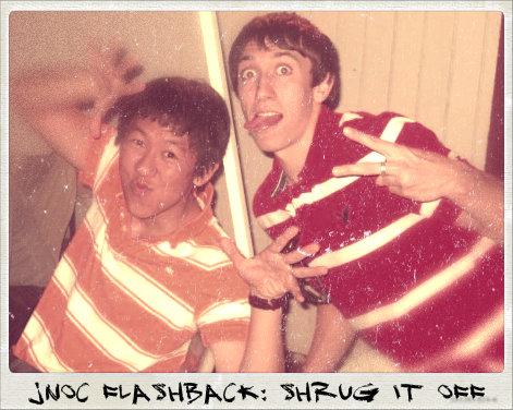 JNOCFlashbackShrug